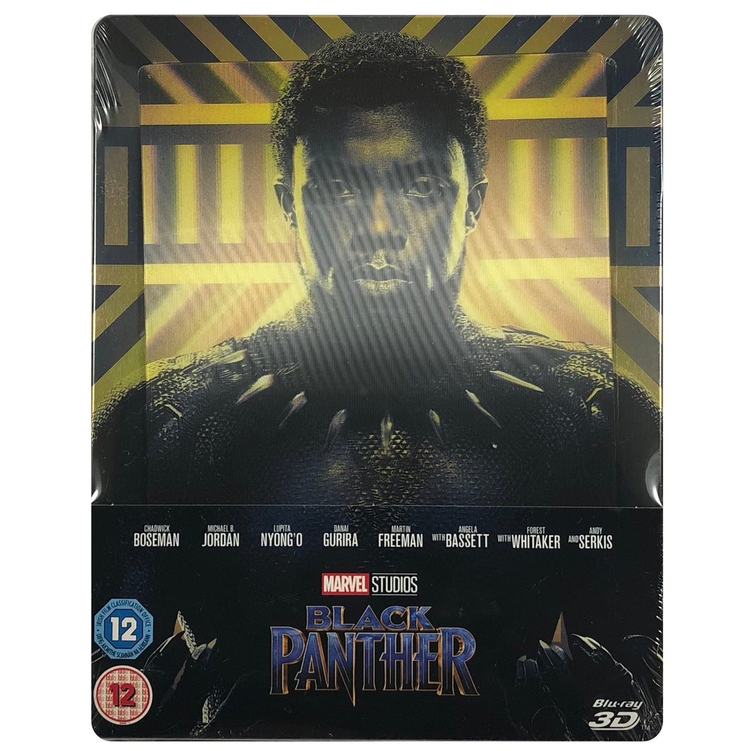 Black Panther 3D Lenticular Blu-Ray Steelbook