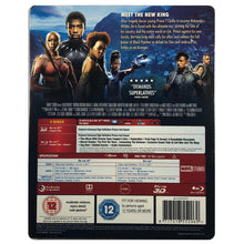 Load image into Gallery viewer, Black Panther 3D Lenticular Blu-Ray Steelbook