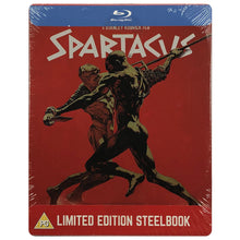 Load image into Gallery viewer, Spartacus Blu-Ray Steelbook