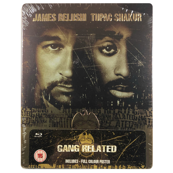 Gang Related Steelbook - Scratched