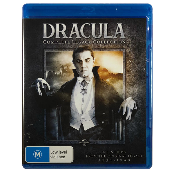The Dracula Complete Legacy Collection Blu-Ray Box Set