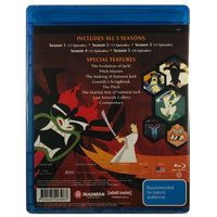 Samurai Jack The Complete Series Blu-Ray Box Set