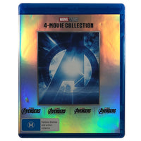 The Avengers 4 Movie Collection Blu-Ray Box Set
