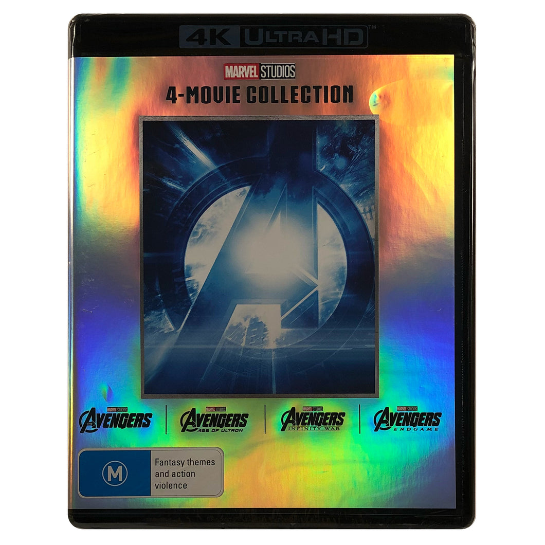 The Avengers 4 Movie Collection 4K Box Set