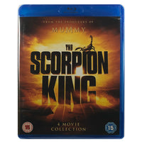 The Scorpion King 4 Movie Collection Blu-Ray Box Set