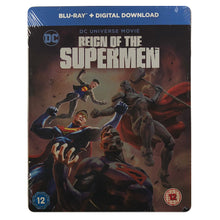Load image into Gallery viewer, Reign of the Supermen Blu-Ray Steelbook