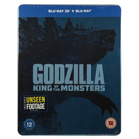 Godzilla King of the Monsters Blu-Ray Steelbook