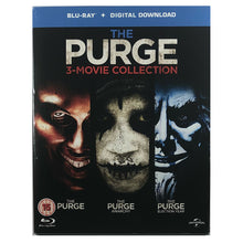 Load image into Gallery viewer, The Purge 3 Movie Collection Blu-Ray Box Set