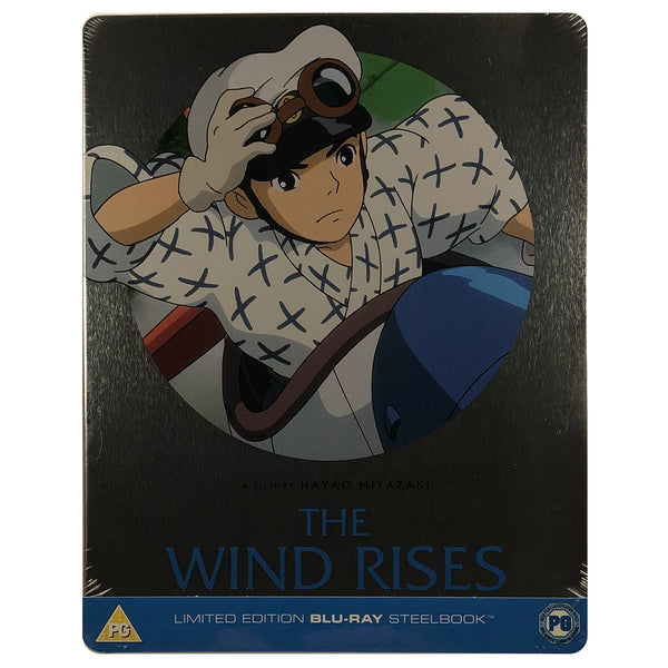 The Wind Rises Blu-Ray Steelbook