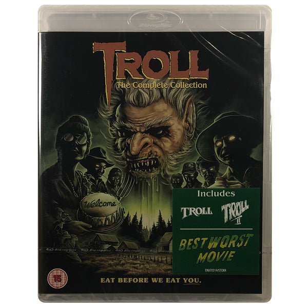Troll: The Complete Collection Blu-Ray