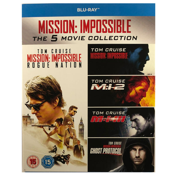 Mission: Impossible - The 5 Movie Collection Blu-Ray Box Set