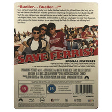 Load image into Gallery viewer, Ferris Bueller's Day Off Blu-Ray Steelbook
