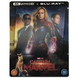 Captain Marvel 4K Lenticular Steelbook