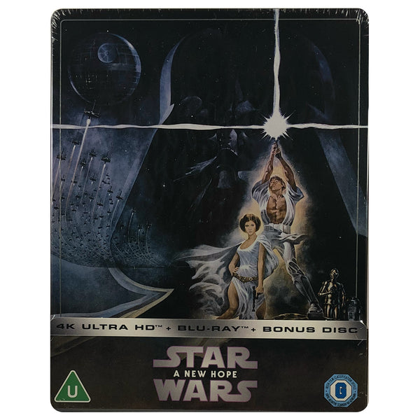 Star Wars Episode IV - A New Hope 4K Steelbook