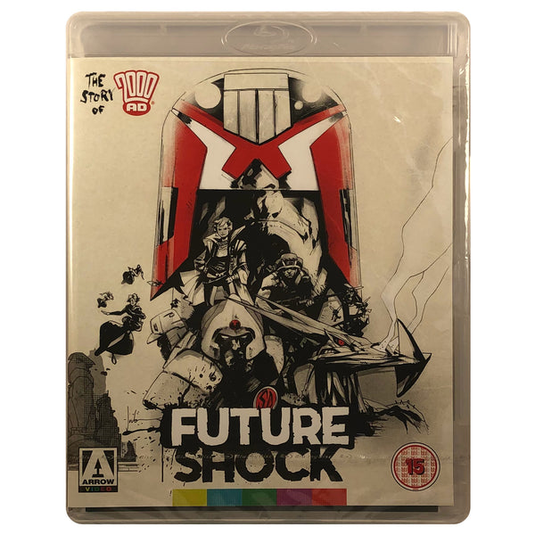 Future Shock - The Story of 2000 AD Blu-Ray