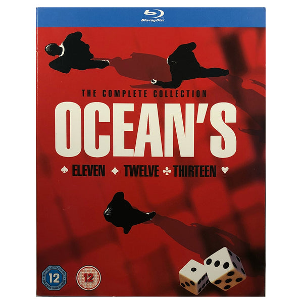 The Complete Ocean's Collection Blu-Ray Box Set