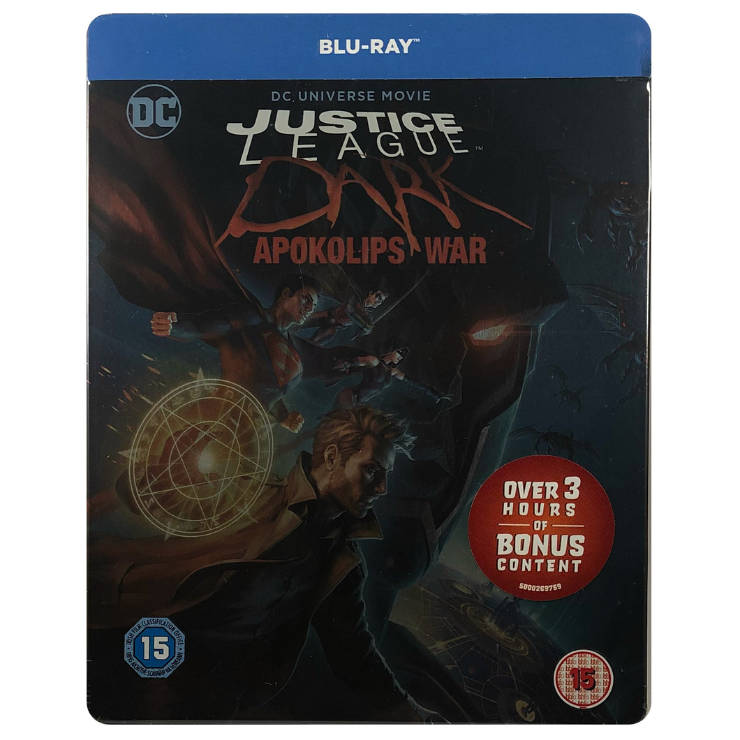 Justice League Dark Apokolips War Blu-Ray Steelbook