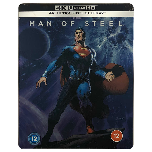 Man of Steel 4K Steelbook