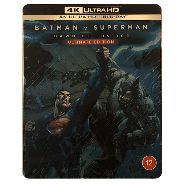 Batman v Superman Dawn of Justice 4K Steelbook