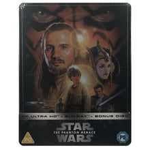 Load image into Gallery viewer, Star Wars: Episode I - The Phantom Menace 4K Steelbook