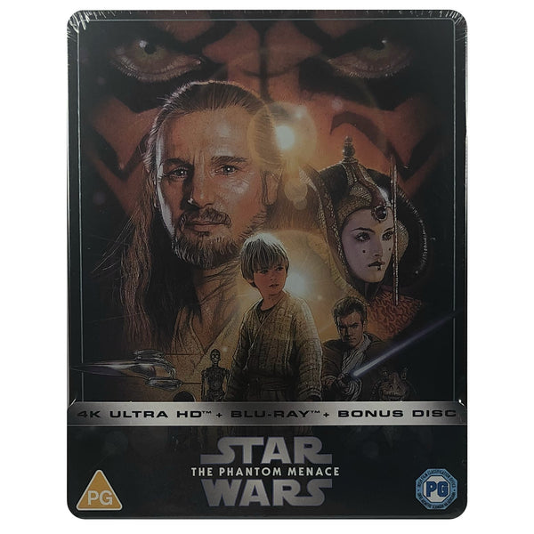 Star Wars: Episode I - The Phantom Menace 4K Steelbook