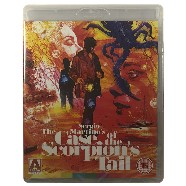 The Case of the Scorpion's Tail Blu-Ray