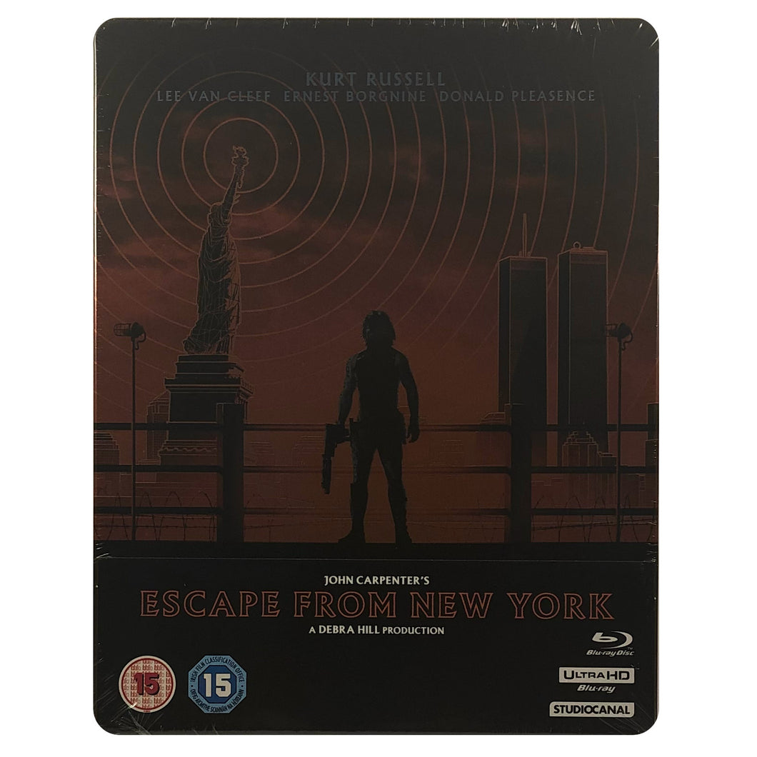 Escape from New York 4K Steelbook