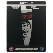 Load image into Gallery viewer, Psycho 60th Anniversary 4K Steelbook