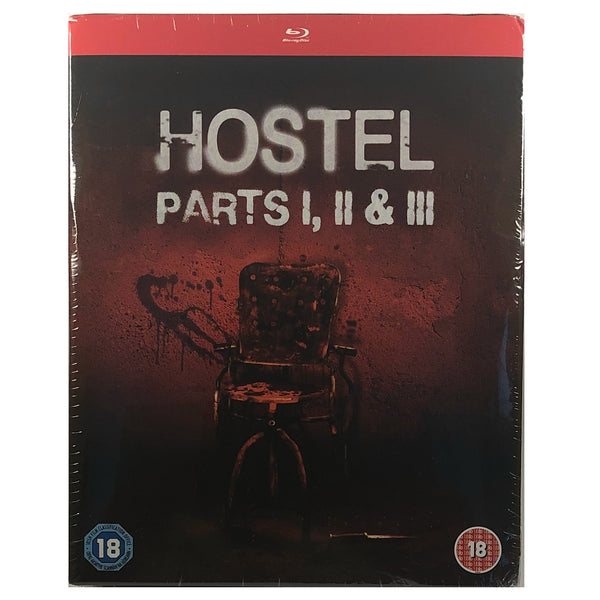 Hostel 1 - 3 Blu-Ray Box Set