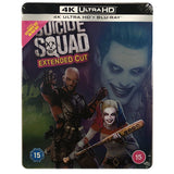 Suicide Squad Extended Cut 4K Steelbook
