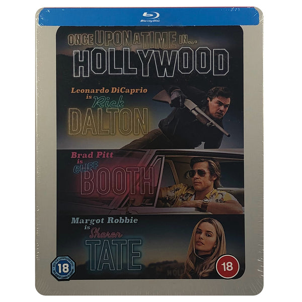 Once Upon a Time in Hollywood Blu-Ray Steelbook