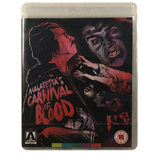 Load image into Gallery viewer, Malatesta's Carnival of Blood Blu-Ray