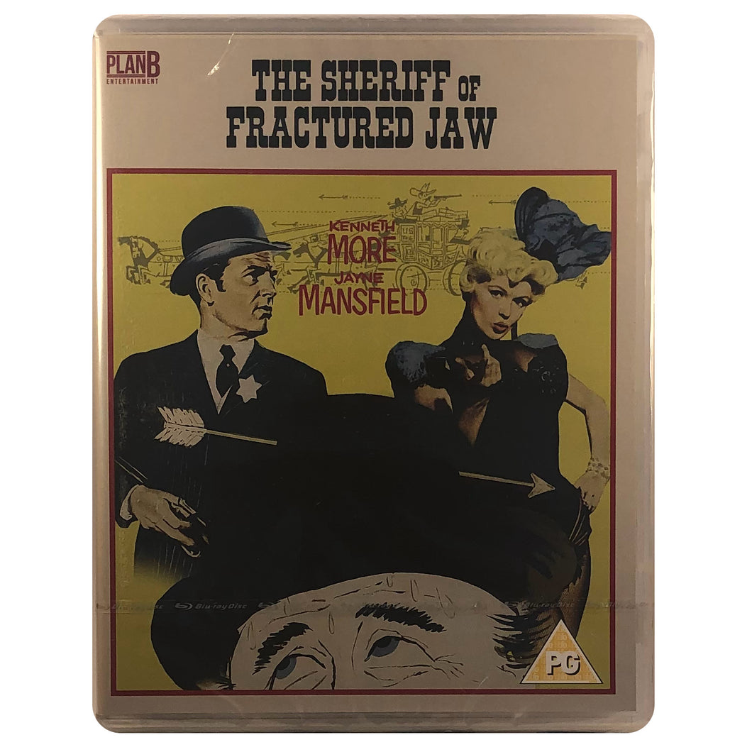 The The Sheriff of Fractured Jaw Blu-Ray