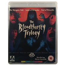Load image into Gallery viewer, The Bloodthirsty Trilogy Blu-Ray