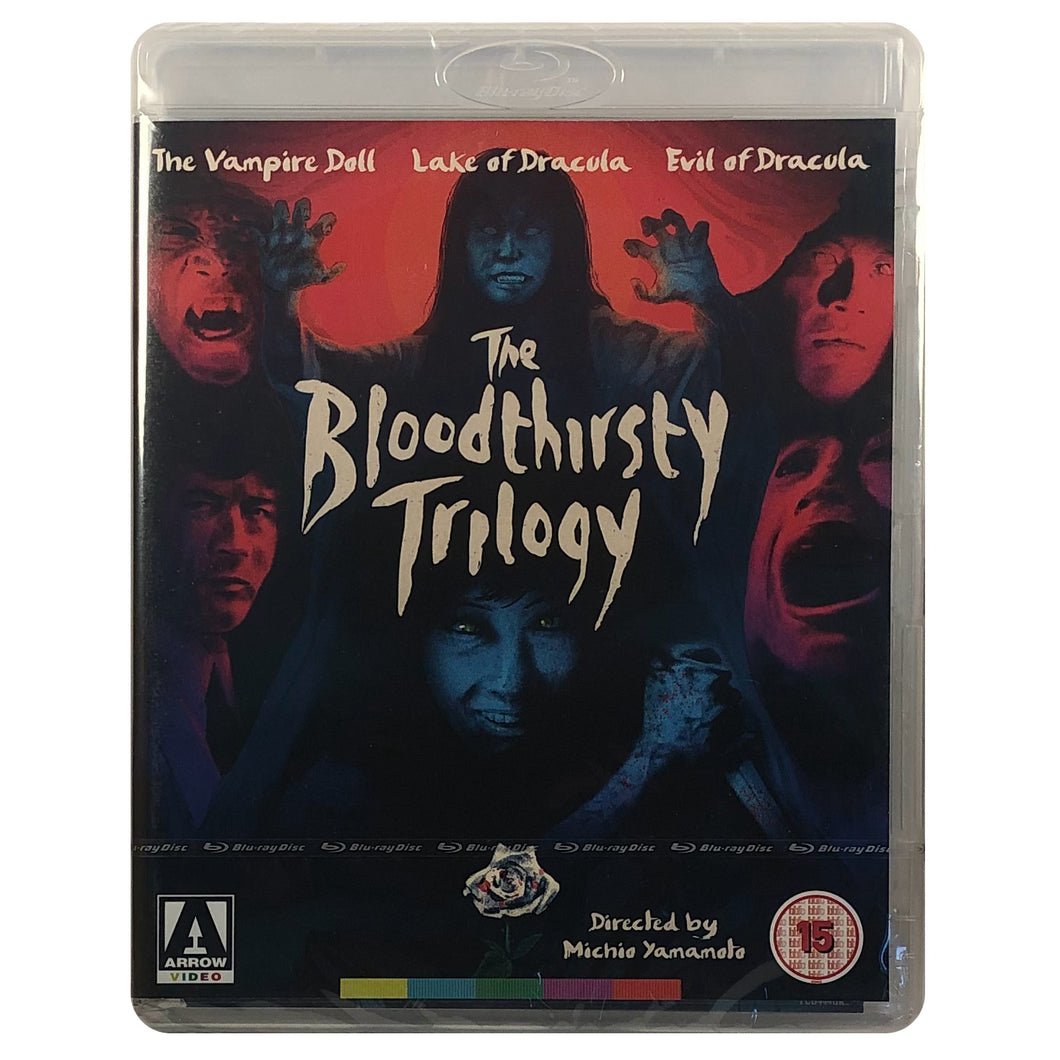 The Bloodthirsty Trilogy Blu-Ray