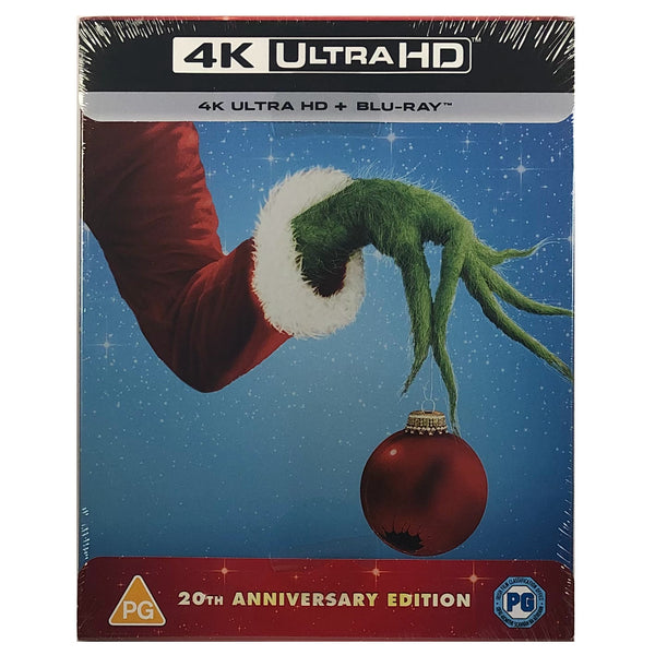 How The Grinch Stole Christmas 4K Steelbook