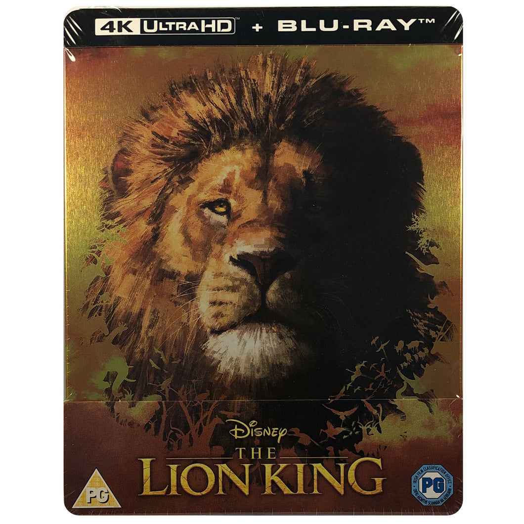 The Lion King (Live Action) 4K Steelbook