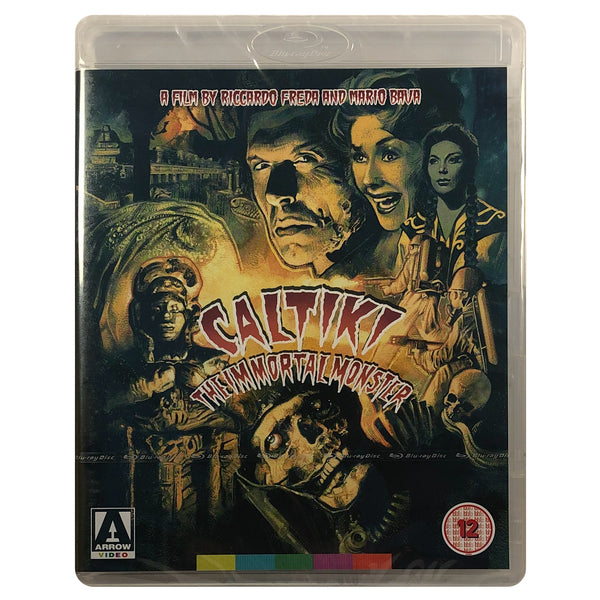 Caltiki The Immortal Monster Blu-Ray