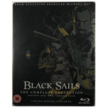 Load image into Gallery viewer, Black Sails: The Complete Collection Blu-Ray Steelbook