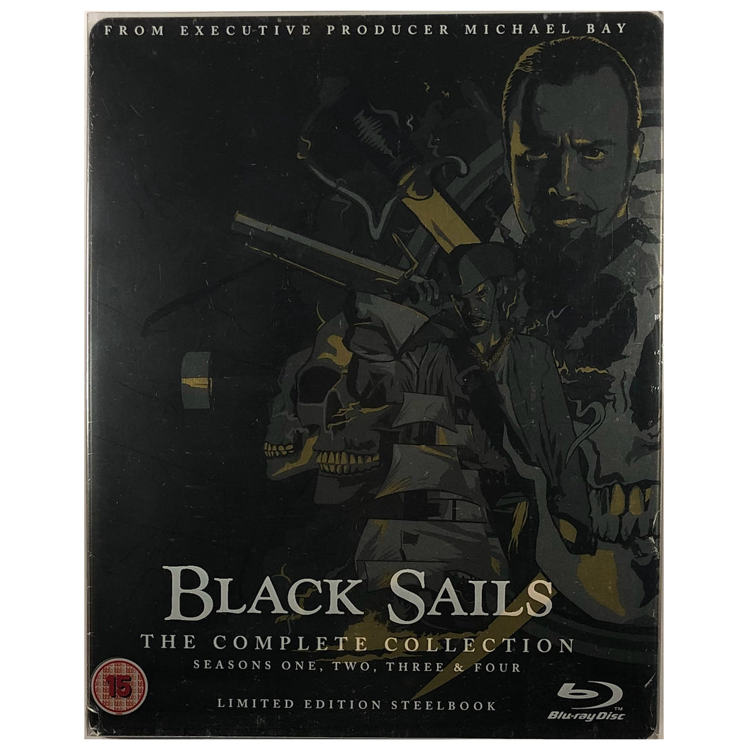 Black Sails: The Complete Collection Blu-Ray Steelbook