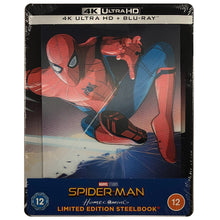 Load image into Gallery viewer, Spider-Man Homecoming 4K Lenticular Steelbook