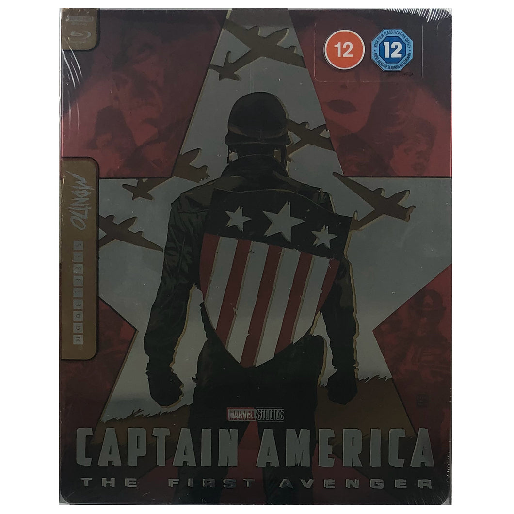 Captain America: The First Avenger Mondo 4K Steelbook