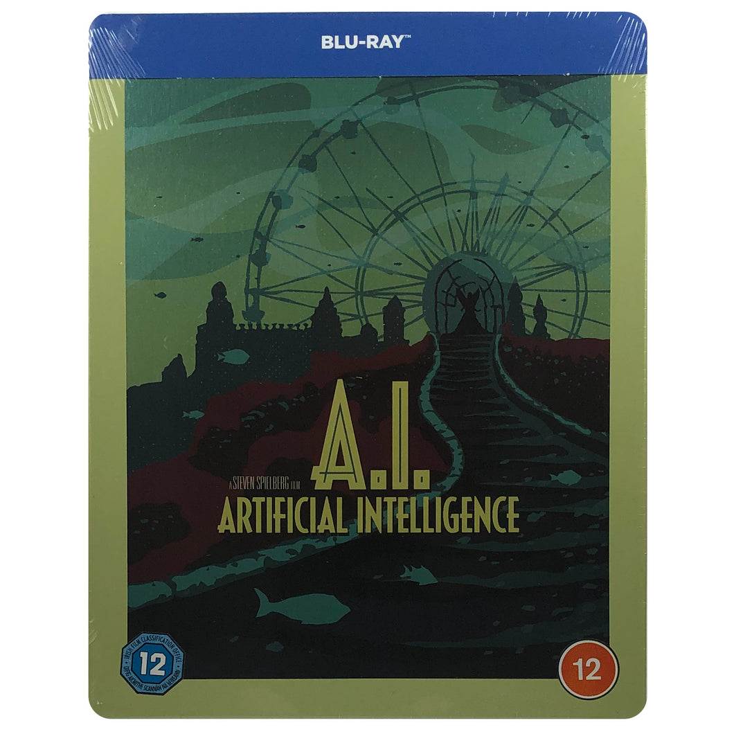 A.I. Artificial Intelligence Blu-Ray Steelbook