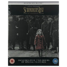 Load image into Gallery viewer, Schindler's List 25th Anniversary 4K Steelbook