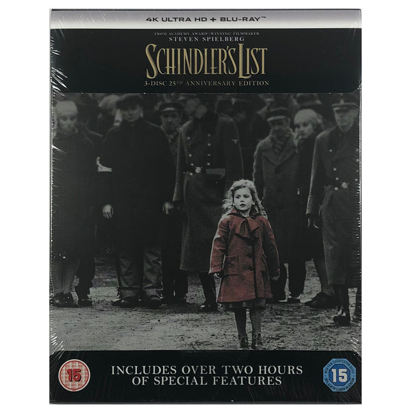 Schindler's List 25th Anniversary 4K Steelbook