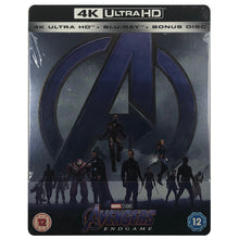 Load image into Gallery viewer, Avengers Endgame 4K Steelbook