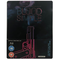 Blood Simple Blu-Ray Steelbook-Scratching on the Cover