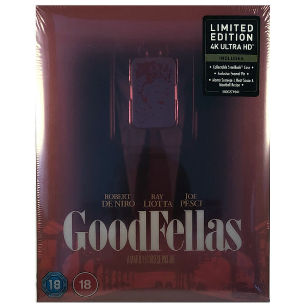 Goodfellas 4K Steelbook - Titans of Cult Release