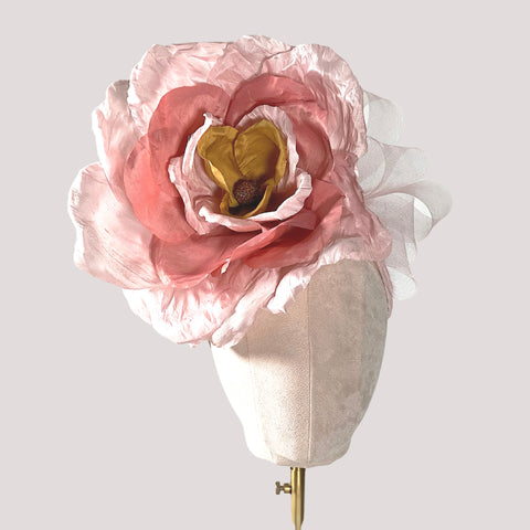 Summer collection by The Northumberland Milliner - featuring Magnolia Silk Rose