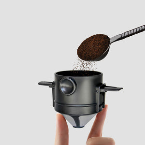 Travel Pour-Over Coffee Filter By Ultimate Coffee Crew